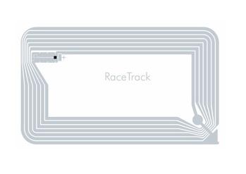 SMARTRAC RaceTrack™ NXP Icode SLIX 49x81mm white