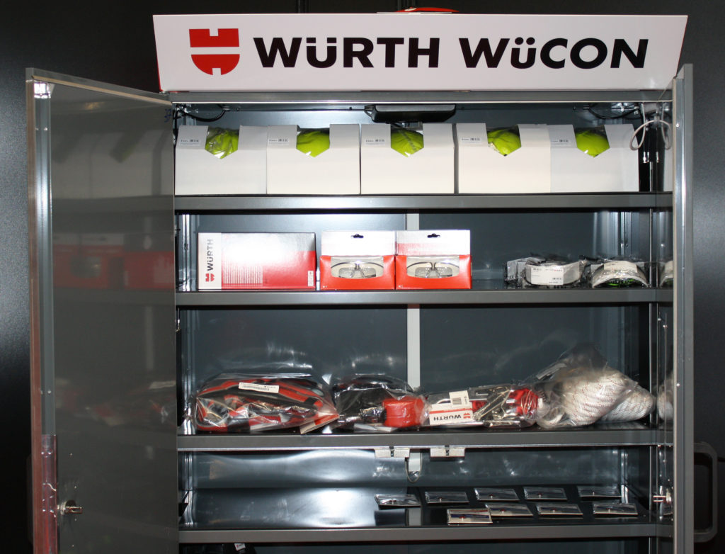 WüCON Compact is a WüCON COMPACT Smart Cabinet Solution developed together with Würth.